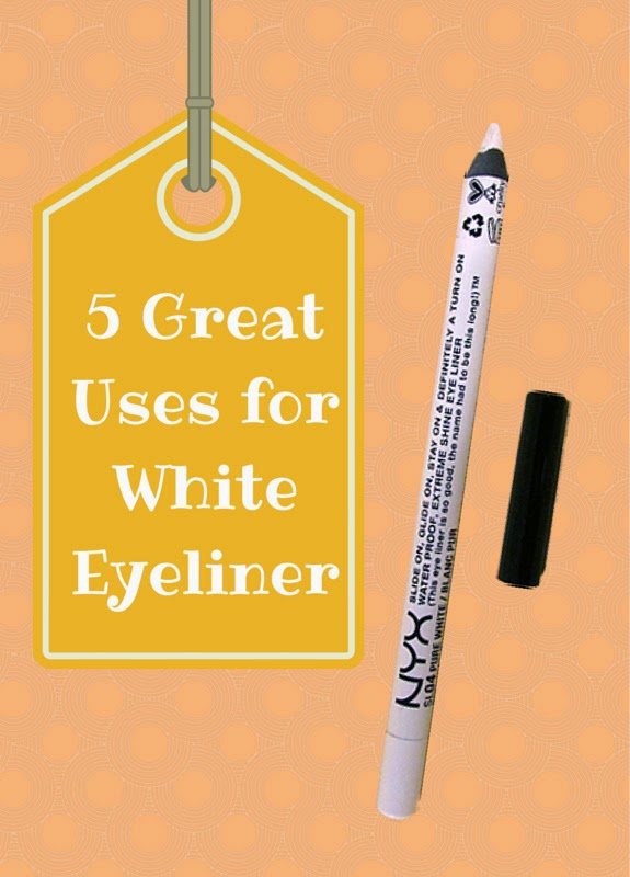 5 Great Uses White Eyeliner   Tips for falsies, winged eyeliner, dark circles and more for this eye makeup