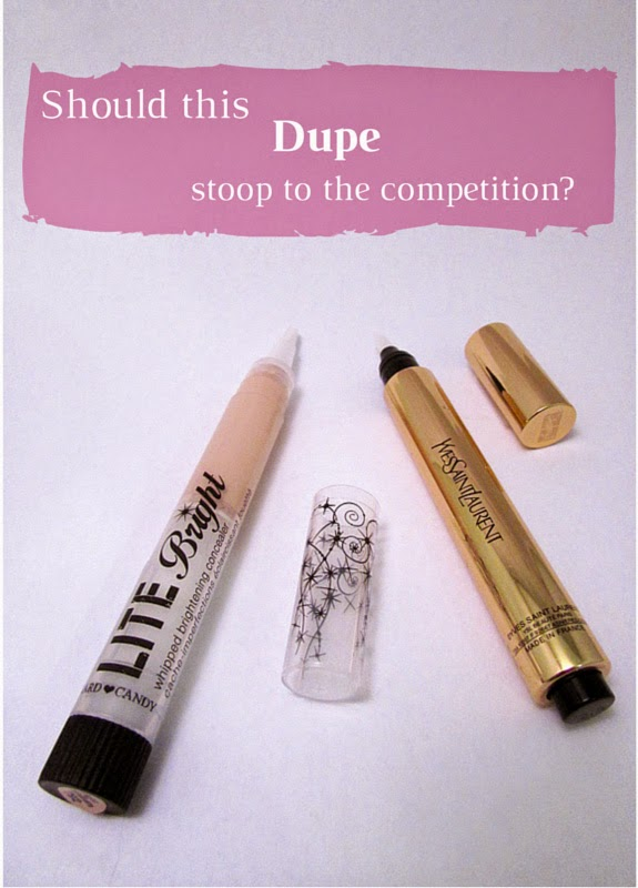 Can the makeup mavens at Hard Candy Lite Bright Concealer Dupe Yves Saint Laurent Touche Eclat?