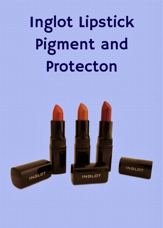 Check out Inglot Lipstick Colors! They provide full pigment and protect your lips with Vitamin E!