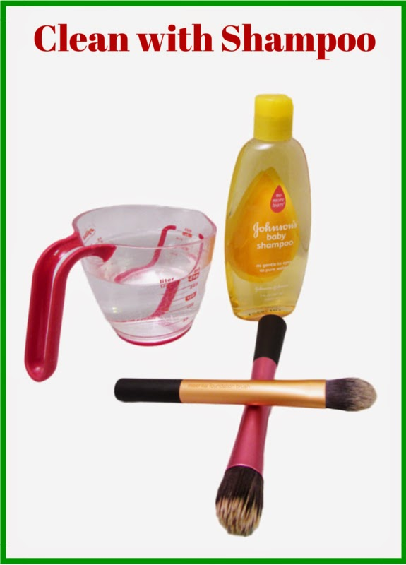 Clean Makeup Brushes With Everyday Items