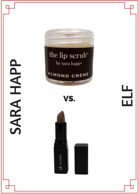 ELF Versus Sara Happ Lip Exfoliator