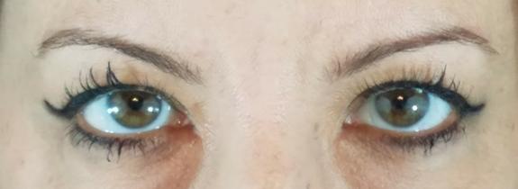 Tarte Tartiest Double Take Eyeliner Swatch