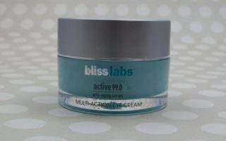 IT'S PURE BLISS – BLISSLABS ACTIVE 99.0 MULTI-ACTION EYE CREAM