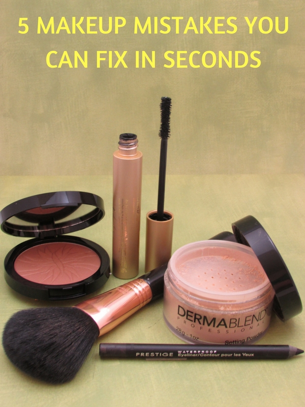 5 Makeup Mistakes Fixed Within Seconds