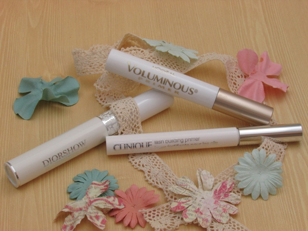 3 Lash Primers I'm loving now