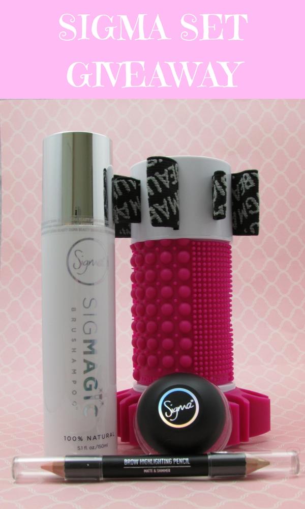 Sigma Cosmetics Giveaway