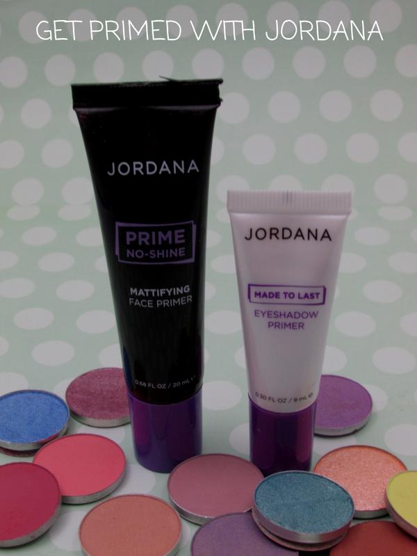 Jordana Prime No Shine Mattifying Primer Eyeshadow Primer