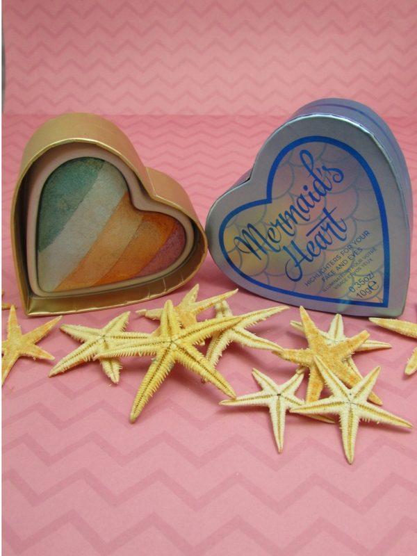 Mermaids Heart Highlighters for Face Eyes